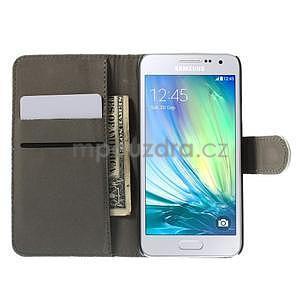 Stylové klopové pouzdro na Samsung Galaxy A3 - Eiffel - 2