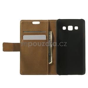 Peněženkové pouzdro pro Samsung Galaxy A3 - americké srdce - 2