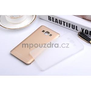 Zlatý kovový kryt na Samsung Galaxy A3 - 2