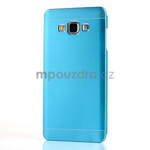 Modrý kovový kryt na Samsung Galaxy A3 - 2