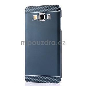 Tmavě modrý kovový kryt na Samsung Galaxy A3 - 2