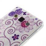 Gelový obal na Samsung Galaxy A3 - motýl a kruhy - 2/6