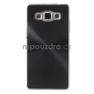 Černý metalický kryt na Samsung Galaxy A5 - 2