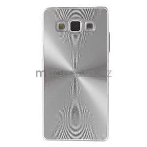 Stříbrný metalický kryt na Samsung Galaxy A5 - 2