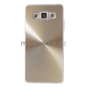 Zlatý metalický kryt na Samsung Galaxy A5 - 2