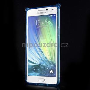 Modrý gelový obal s nastavitelným stojánkem na Samsung Galaxy A5 - 2