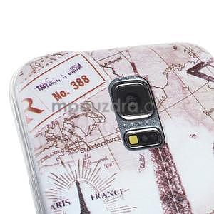 Ultra tenký gelový obal Samsung Galaxy S5 mini - Eiffel - 2