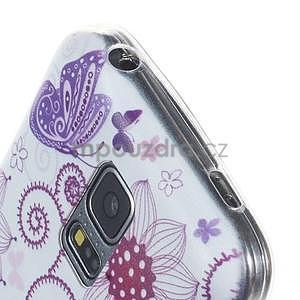 Ultra tenký gelový obal Samsung Galaxy S5 mini - motýlek - 2