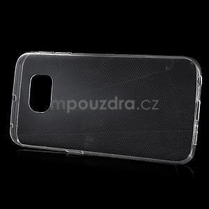 Transparentní ultra slim obal na Samsung Galaxy S6 Edge - 2