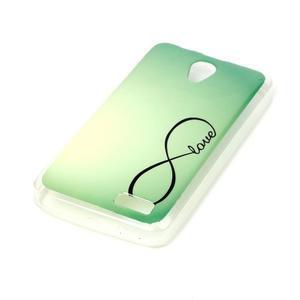 Softy gelový obal na mobil Lenovo A319 - love - 2
