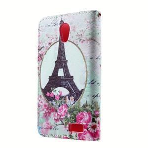 Peněženkové pouzdro na mobil Lenovo A319 - Eiffelova věž - 2