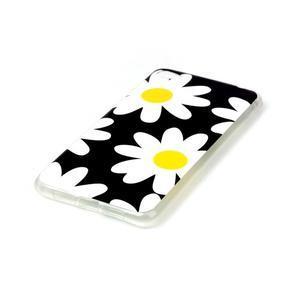 Glossy gelový obal na mobil Lenovo S90 - kytičky - 2