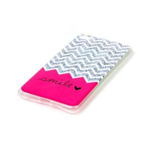 Glossy gelový obal na mobil Lenovo S90 - smile - 2