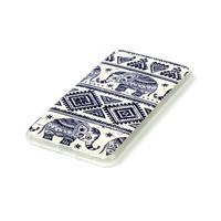 Glossy gelový obal na mobil Lenovo S90 - sloni - 2/3