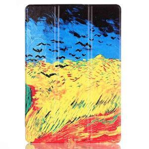 Polohovatelné pouzdro na tablet Lenovo Tab 2 A10-70 - umělecká mabla - 2