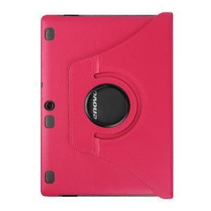 Pouzdro s otočnou funkcí na tablet Lenovo Tab 2 A10-70 - rose - 2