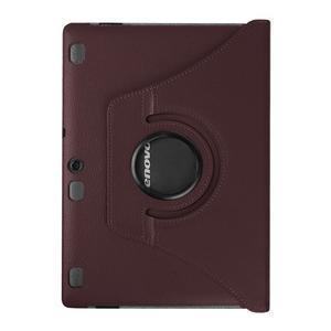 Pouzdro s otočnou funkcí na tablet Lenovo Tab 2 A10-70 - tmavěhnědé - 2