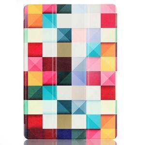 Polohovatelné pouzdro na tablet Lenovo Tab 2 A10-70 - barevné kostky - 2