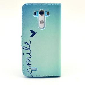Obrázkové pouzdro na mobil LG G3 - smile - 2