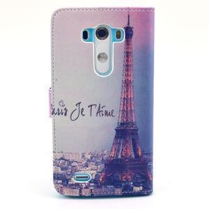 Obrázkové pouzdro na mobil LG G3 - Eiffelova věž - 2