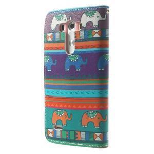 Obrázkové pouzdro na mobil LG G3 - tribal - 2