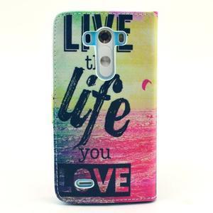 Obrázkové pouzdro na mobil LG G3 - love - 2