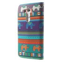 Obrázkové pouzdro na mobil LG G3 - tribal - 2/7