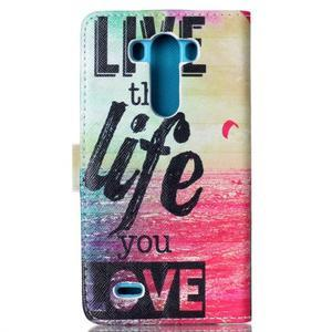 Motive pouzdro na mobil LG G3 - love - 2