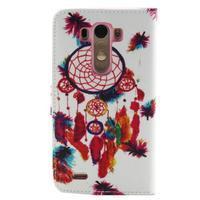 Obrázkové koženkové pouzdro na mobil LG G3 - lapač snů - 2/5