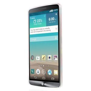 Gelový kryt na mobil LG G3 - barvy dřeva - 2