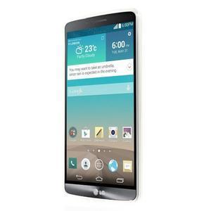 Gelový kryt na mobil LG G3 - barevné oko - 2