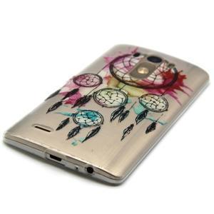 Průhledný gelový obal na LG G3 - lapač snů - 2