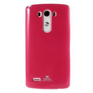 Odolný gelový obal na mobil LG G3 - rose - 2