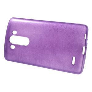 Brush gelový obal na LG G3 - fialový - 2