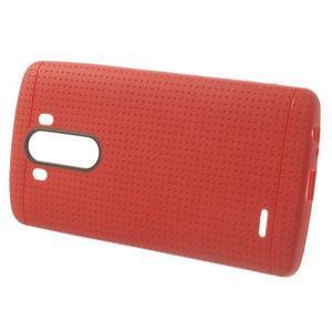 Silks gelový obal na LG G3 - červený - 2
