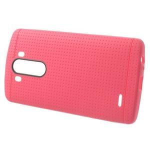 Silks gelový obal na LG G3 - rose - 2
