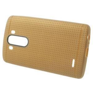 Silks gelový obal na LG G3 - hnědý - 2