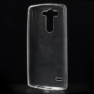 Transparentní ochranný gelový kryt LG G3 s - 2