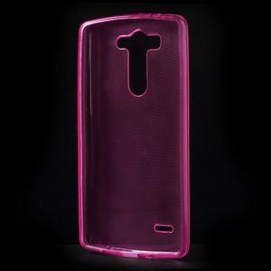 Rose ochranný gelový kryt LG G3 s - 2