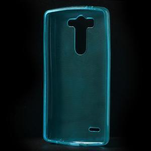 Modrý ochranný gelový kryt LG G3 s - 2