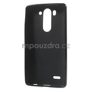 Černý matný gelový kryt LG G3 s - 2
