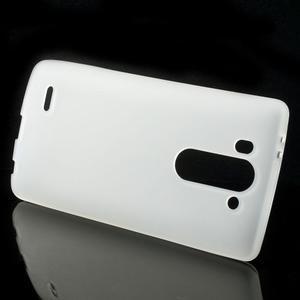 Transparentní matný gelový kryt LG G3 s - 2
