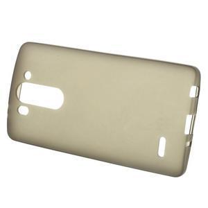 Šedý matný gelový kryt LG G3 s - 2