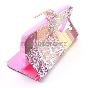 Peněženkové pouzdro na LG G3 s - mandala - 2