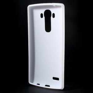 Lesklý gelový obal na LG G4 - bílý - 2