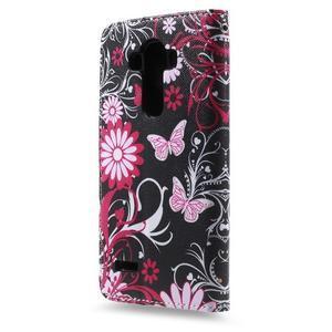 Call peněženkové pouzdro na LG G4 - kouzelní motýlci - 2