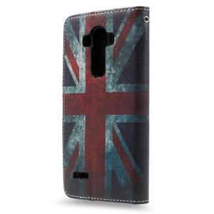 Call peněženkové pouzdro na LG G4 - UK vlajka - 2