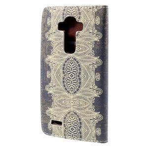 Koženkové pouzdro na mobil LG G4 - Henna - 2