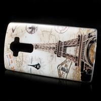 Softy gelový obal na mobil LG G4 - Eiffelova věž - 2/5