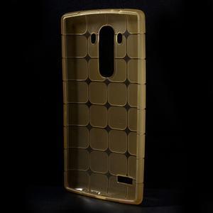 Square gelový obal na LG G4 - champagne - 2